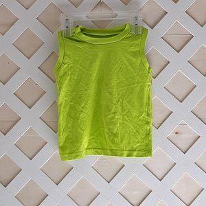 🔥Kidgets Neon Green sleeveless size 3T t-shirt